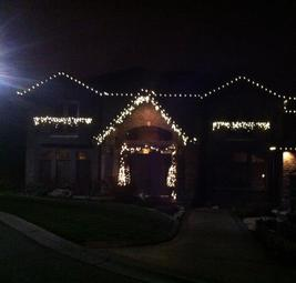 Custom Fit Christmas Lights West Kelowna