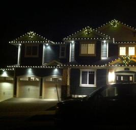 Christmas Light installers Okanagan Valley